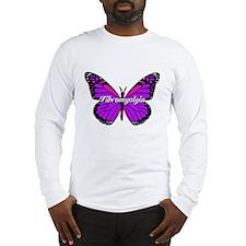 FIBROMYALGIA MONARCH Long Sleeve T-Shirt