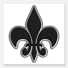 """Tar with Bevel Square Car Magnet 3"""" x 3"""""""