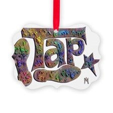 Tap spectrum clay Ornament