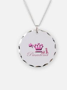 Pasadena Pink Vespa Necklace