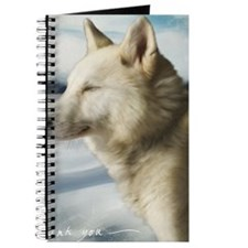 Wolf Thank You Card Journal