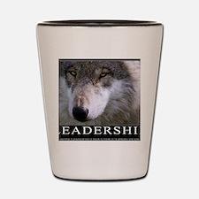 Leadership Motivational Poster Shot Glass
