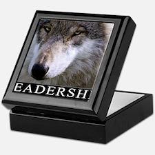 Leadership Motivational Poster Keepsake Box