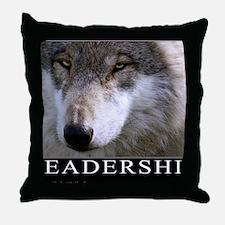Leadership Motivational Poster Throw Pillow