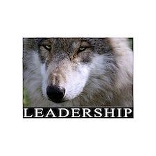 Leadership Motivational Poster 5'x7'Area Rug
