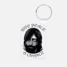 GivePeaceAChance Keychains