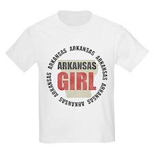 Arkansas Girl Kids T-Shirt