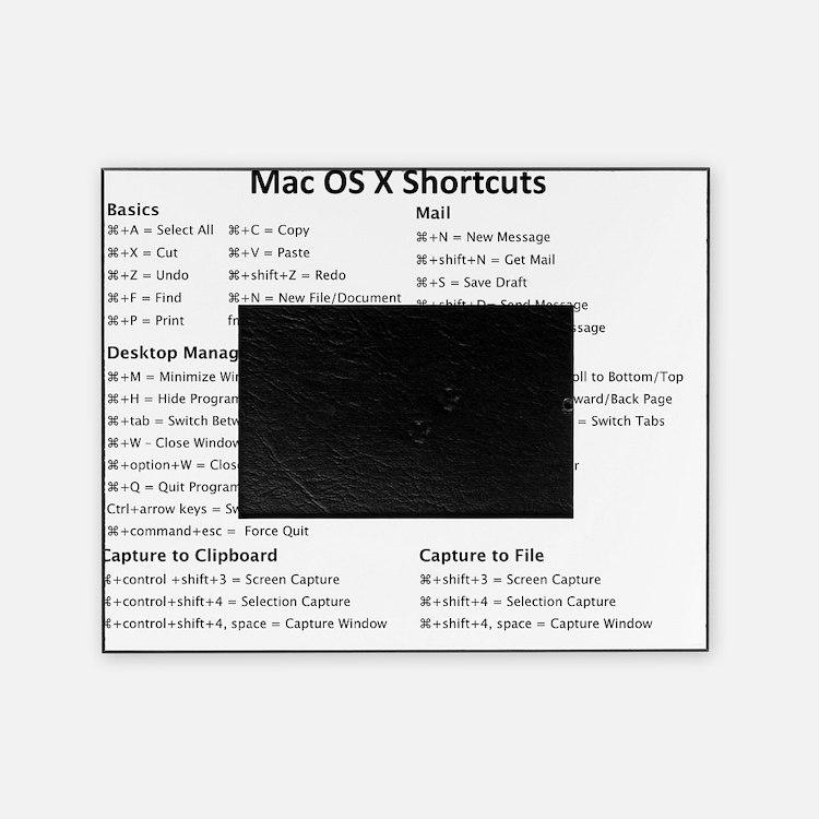 Mac Os X Shortcuts Picture Frame