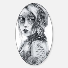 Mermaid Mask Decal