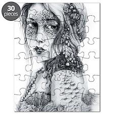 Mermaid Mask Puzzle