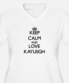 Keep Calm and Love Kayleigh Plus Size T-Shirt