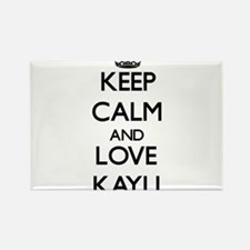 Keep Calm and Love Kayli Magnets