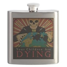 Your Children are Dying Flask