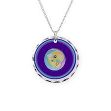 2-Budgie round jpg Necklace