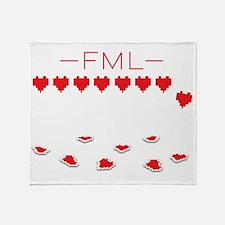 FML BL Throw Blanket