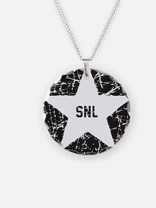 SNL Black Star Necklace
