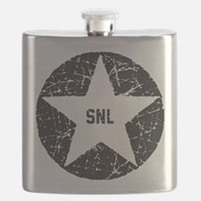 SNL Black Star Flask