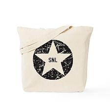 SNL Black Star Tote Bag