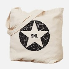 SNL Black Star Tote Bag