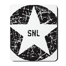 SNL Black Star Mousepad