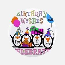 "PENGUINBDAY2 3.5"" Button"