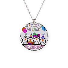 PENGUINBDAY1st Necklace Circle Charm