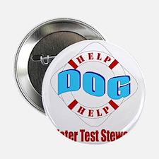 """Water Test Steward 2.25"""" Button"""