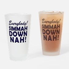 Simmer Down Now3 Drinking Glass