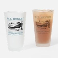 HL Hunley (B) Drinking Glass