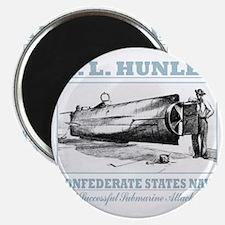 HL Hunley (B) Magnet