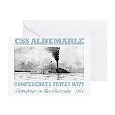 CSS Albemarle (B) Greeting Card