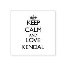 Keep Calm and Love Kendal Sticker