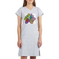 hoopslut60sfrontLT Women's Nightshirt