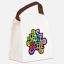 hoopslut60sfrontLT Canvas Lunch Bag