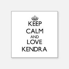 Keep Calm and Love Kendra Sticker