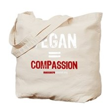 compassion-vegan-3 Tote Bag