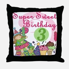 ZXSUPERSWEET3 Throw Pillow