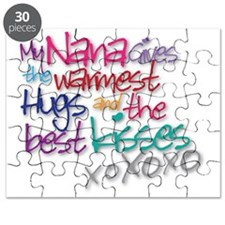 Nanas hugsnkisses Puzzle