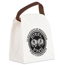 Steel Fins BusCard Badge Canvas Lunch Bag