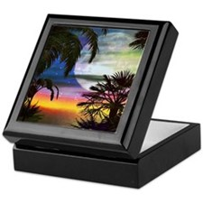 Tropical Nights Keepsake Box