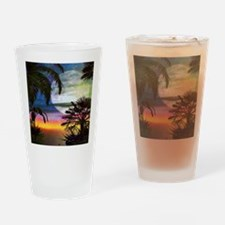 Tropical Nights Drinking Glass