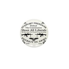 Defend The Constitution Shirt Mini Button