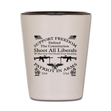 Defend The Constitution Shirt Shot Glass