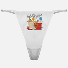Little Rugrat 1st Birthday Classic Thong
