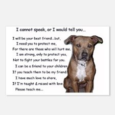 pitbullbig Postcards (Package of 8)