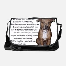 pitbullbig Messenger Bag