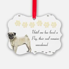 2-pugmom Ornament