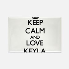 Keep Calm and Love Keyla Magnets