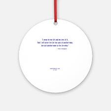 AtlasVerse10 Round Ornament