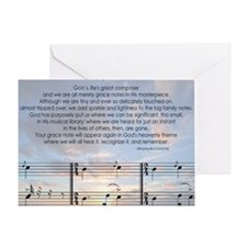 Grace Note Mousepad Greeting Card
